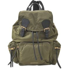 Burberry Runway Ll Rucksack Bag ($1,095) ❤ liked on Polyvore featuring bags, brown, draw string bag, burberry bags, backpack shoulder bag, shoulder bag and draw string backpack