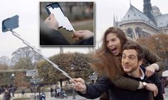 StikBox has launched a Kickstarter campaign for its multi-purpose phone case that features a built-in selfie stick. The aluminum stick simply extends when you need it and folds up neatly when you don't. Must Have Gadgets, Perfect Selfie, Latest Iphone, Cool Technology, Selfie Stick, Folded Up, Iphone Cases, Iphone Case, I Phone Cases