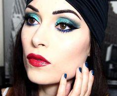 Buongiorno!!! Il tutorial di oggi è in collaborazione con @pupamilanoitaly, si tratta di un bel makeup intenso e turchese e l'ho realizzato con la superfashion #Icon palette! Spero vi piaccia!!! #pupart #pupamilano #icon (link in bio )