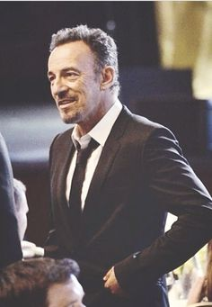 Bruce Springsteen... sharp dressed man!