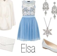 Elsa inspired outfit from Disney's Frozen❄️