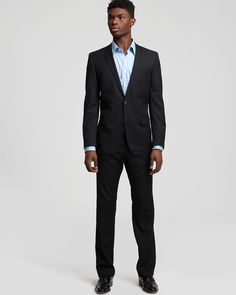 HUGO Astro Hill Pinstripe Suit