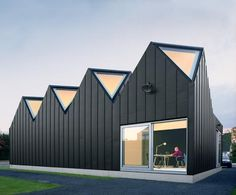 NU Architectuuratelier - Linq (advertising agency offices and a house), Sint-Denijs Westrem 2005