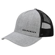 347ce57961e7f Boné Oakley Aba Curva Mod Chalten Cap Masculino - Cinza e Preto - Compre  Agora