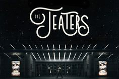Teaters Typeface by Try&Error Studio on Creative Market