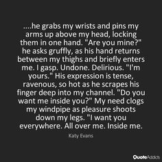Image result for i want you inside of me quotes
