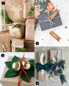 Roundup: 40 Stylish and Budget-Friendly Holiday Gift Wrap Ideas
