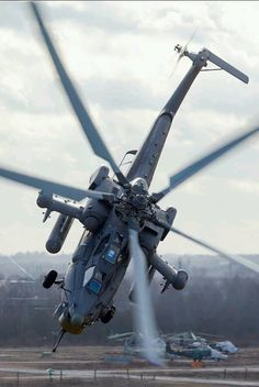 Russian Attack Helicopter
