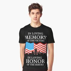Remembering September 11th, Better Half, Tshirt Colors, Wardrobe Staples, Funny Shirts, Female Models, Classic T Shirts, Forget, Memories