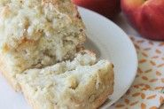 Peach Coconut Banana Bread