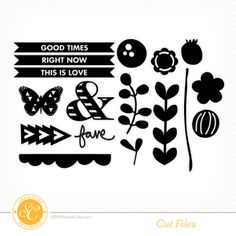 Stenciled Class Cut Files at @Abigail Phillips Mounier calico Personal Use only--LOVE this cut file!!!