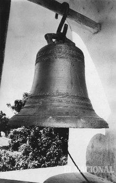 Campana de la iglesia de Gibraltar, estado Zulia. Gibraltar, 24-02-1980 (ARCHIVO EL NACIONAL)