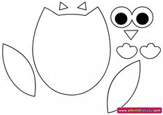 keçe baykuş kalıbı - Google'da Ara Owl Crafts, Diy And Crafts, Crochet Pincushion, Quiet Book Templates, Felt Material, Felt Patterns, Baby Owls, Felt Diy, Felt Ornaments