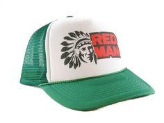 7618cf67 Red Man tobacco Trucker Hat mesh hat snapback hat green new adjustable # Unbranded #TruckerHat