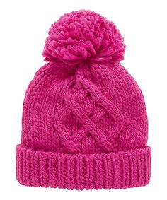 Berry Knitted Beanie