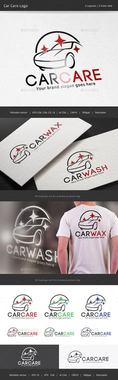 Car Care Logo — Vector EPS #auto #maintenance • Available here → https://graphicriver.net/item/car-care-logo/10688926?ref=pxcr