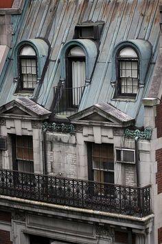 arched windows, Paris