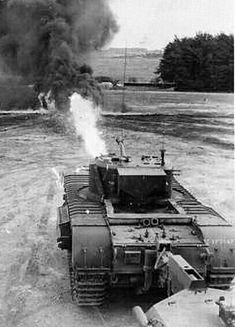 A22F Flamethrower tank Churchill VII Crocodile