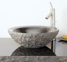 Beveled Round Sink By Stone Forest