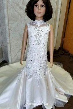 06c183c9348 MB-romney. Miniature Bride DressLace MermaidMermaid DressesToddler Flower  Girl ...