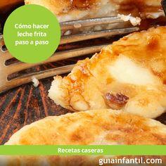 Te enseñamos a hacer este dulce típico de #Carnaval. Sigue nuestras explicaciones del paso a paso o el vídeo para elaborar tu propia Leche frita. http://www.guiainfantil.com/recetas/postres-y-dulces/leche-frita-receta-tradicional-paso-a-paso/
