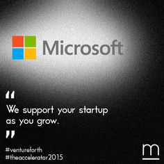 Empowering ‪#‎startups‬ together with Microsoft. Thank you Microsoft Innovation Center Greece! Find out more about The Accelerator 2015 and submit your company http://metavallon.org/the-accelerator/ ‪#‎TheAccelerator2015‬ ‪#‎ventureforth‬