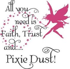 1000 images about tattoo designs on pinterest peter pan for Good look faith trust and pixie dust wall decal