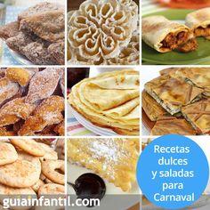 Filloas, empanada, leche frita.. Estas son algunas de las recetas más típicas de #Caranaval http://www.guiainfantil.com/recetas/cocinar-con-ninos/recetas-de-carnaval-divertidas-para-ninos/