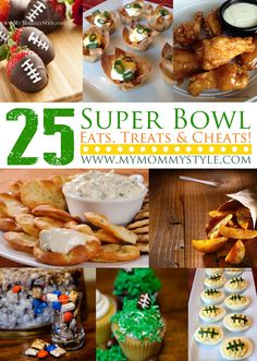 Superbowl Sunday – 25 Game Day Appetizers, Snacks and Foods - #mymommystyle.com #superbowl #appetizers