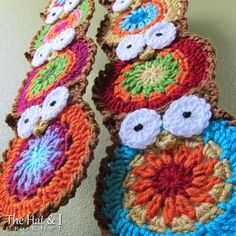 Crochet Pattern  B HOO UR Scarf  a crochet owl scarf by TheHatandI