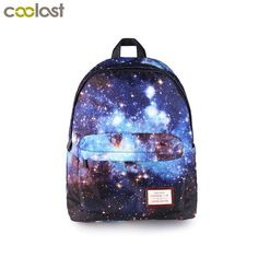 EBay  Galaxy Backpack For Teenage Girls Boys Universal Star Bags Starry  Night School Backpack 46c54514af798