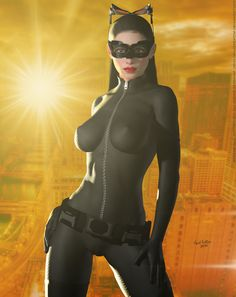 The Cat Sunset City Cosplay Rare Comic Books, Comic Book Characters, Comic Character, Comic Books Art, Comic Art, Cosplay Gatúbela, Catwoman Cosplay, Cosplay Girls, Dc Comics