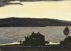 Hugo Simberg, Finnish Spring Evening when the Ice Is oil on canvas, cm x cm, Finnish National Gallery Light Painting, Painting & Drawing, National Gallery, Positive Art, Digital Museum, Spring Painting, Yellow Art, Prince, Collaborative Art