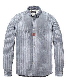 Vintage style workwear shirt - Scotch & Soda