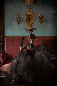 Portrait work of Nigerian model Ramona By David Terrazas