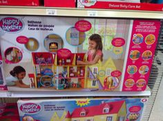 I love this dollhouse! It has everything and even closes up. And the best part is that the price is economical
