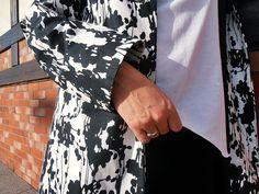 Black and White Dr. Martens, Wrap Dress, Black And White, Dresses, Fashion, Vestidos, Moda, Black N White, Fashion Styles