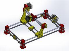 3D printed laser cutter