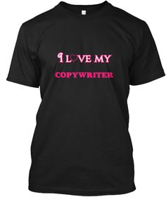 I Love My Copywriter Black T-Shirt Front - This is the perfect gift for someone who loves Copywriter. Thank you for visiting my page (Related terms: love,I love my Copywriter,Copywriter,copywriters,copywriting,copywriter,catalog copywriting,catalog  #Copywriter, #Copywritershirts...)