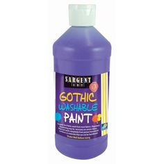 Bright colors for preschool and budding young artists. Non-toxic. Sargent Art, Color Crayons, Washable Paint, Construction Paper, Fun Learning, Art Art, Arts And Crafts, Yellow, Painting