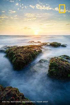 Mossy rocks in Mui Ne Cape, Vietnam, create an unusual Mui Ne, Save The Planet, Endangered Species, Your Shot, Beautiful Landscapes, National Geographic, Amazing Photography, Vietnam, River