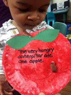 The Very Hungry Caterpillar Activity for toddlers