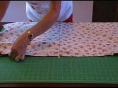 Pillowcase tutorial with enclosed seams on the trim and french seams down the side