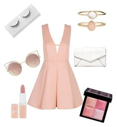 """Untitled #51"" by bianca-diana-popovici on Polyvore featuring Accessorize, Givenchy, MANGO, LULUS and Rimmel"