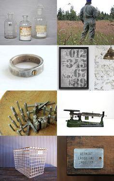 Timeless Industrial Age by #VintageAndMain on Etsy #IndustrialDecor #Industrial