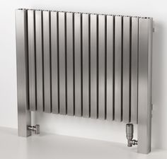Marion stainless steel contemporary radiator