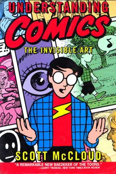 Professional Collection.  Much lauded look at the history and evolution of comics.  Learn more at GoodReads: http://www.goodreads.com/book/show/102920.Understanding_Comics
