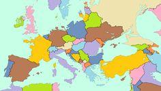 So sähe Europa aus, wenn alles Eis der Welt schmelzen würde:   28 Landkarten, die Dir eine komplett neue Sicht auf Europa geben