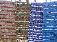 Margit Koski Rag Rugs, Recycled Fabric, Woven Rug, Weave, How To Make, Inspiration, Weaving Looms, Rug Weaves, Biblical Inspiration