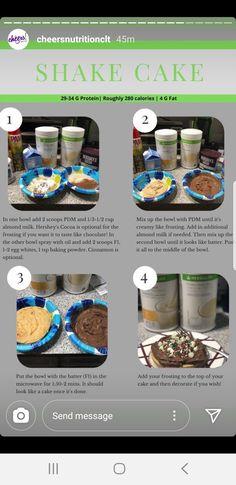 Herbalife Nutrition Facts, Herbalife Diet, Herbalife Shake Recipes, Isagenix, Healthy Cupcake Recipes, Fun Recipes, Healthy Foods, Healthy Life, Healthy Eating